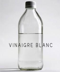 vinaigre blanc pipi